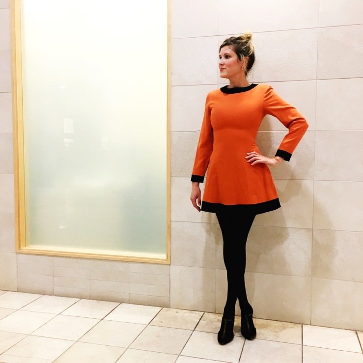 vintageorangedress